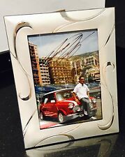 Takuma Sato Signed 6x4 Framed Photo - [Monte Carlo, Mini Cooper, Super Aguri]
