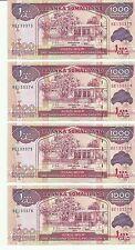 SOMALILAND   P 20    1000 Schillings 2011   kassenfrisch  kfr  UNC   4 Noten