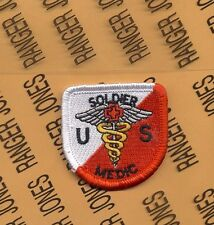 US Army Cavalry Medic Airborne beret flash patch m/e