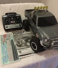 Tamiya 1/10 RC Ford F350 F-350 High Lift 4x4 Truck ESC 2.4GHz radio w/ Batteries