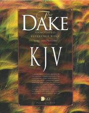 KJV Dake Annotated Reference Bible (large note edition) --  soft leather-look,