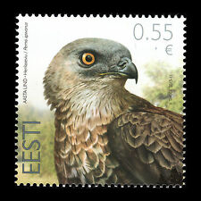 "Estonia 2015 - Bird of the Year ""European Honey Buzzard"" Fauna - MNH"