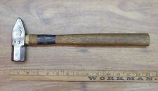 Antique Atha 1-1/2lb Cross Peen Hammer,1-5/16 Face & Peen,100+ Yrs.Old,Pristine