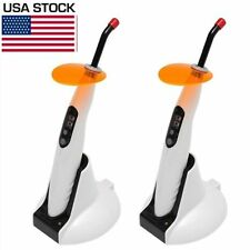 2* Dental Curing Light LED.B Wireless Cordless LED Lamp 1400mw Woodpecker Style