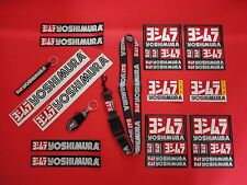 YOSHIMURA MEGA BUNDLE! 12- STICKERS DECAL, 2- KEYCHAINS 1- LANYARD KEY RING!