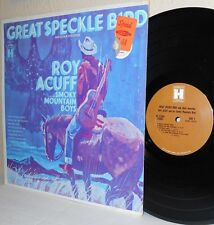 1968 ROY ACUFF and his Smoky Mountain Boys LP Great Speckle Bird M- Shrinkwrap