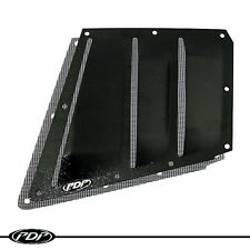 2012+ ARCTIC CAT PROCLIMB M8 M1100 Snowmobile PDP Premium Lower Vent Kit: Black
