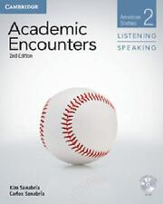 ACADEMIC ENCOUNTERS LEVEL 2 STUDENT'S BOOK LISTENING AND SPEAKING WITH DVD...