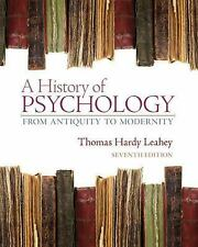 A History of Psychology: From Antiquity to Modernity 7th Ed (Global Edition)