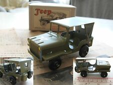 Tin Toy JEEP WILLYS diecast (made in Japan) 8cm long