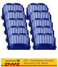 10 erpack Aerovac filtros para iRobot Roomba 500er 600,620,630,650,660 con recipientes