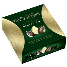 After Eight Dark and White Mint Chocolate Selection Box 122g Santa Gifts Xmas