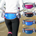 NEW Running Jogging Waist Bag w/ Double Bottles Fanny Pack Bum Belt Pouch Unisex