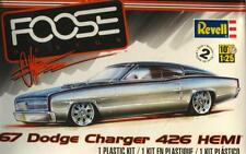 DODGE CHARGER 1967 '67 HEMI FOOSE CUSTOM 1:25 REVELL 85-4051 SEALED PLASTIC KIT