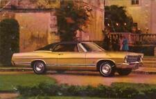 1967 FORD LTD 2 DOOR HARDTOP*YOU'RE AHEAD IN A FORD ALL THE WAY*POSTCARD