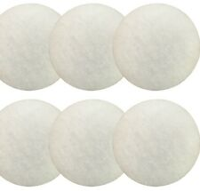 6 x EHEIM COMPATIBLE 2217 WHITE FINE POLISHING PADS