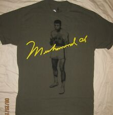 Muhammad Ali Boxing Stance T-Shirt Adult Medium Officially Licensed Ali Clothing