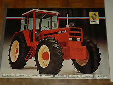 Affiche Ancienne Tracteur RENAULT  1181 4    poster  tractor traktor trattore