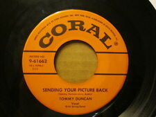 TOMMY DUNCAN - Sending Your Picture Back / Mirror On the Wall     CORAL 45rpm