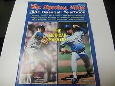 1987 COMPLETE MLB BASEBALL YEARBOOK GUIDE GOOD CONDITION THE SPORTING NEWS RARE
