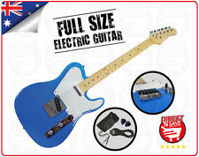 Electric Guitar Blue 6 string Maple Neck Maple Fingerboard - BRAND NEW