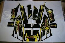 545 YFZ Yamaha Banshee full graphics kit Rockstar