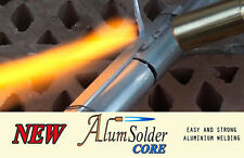 AlumSolder Core - joining ALUMINIUM, STAINLESS STEEL low temp. welding rods.