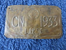 1933 rarissimo BOLLO tassa di circolazione PROVINCIA CUNEO - FASCISMO