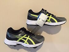 ASICS Men's Shoes Gel Contend 3 Carbon/Flash Yellow/Black - Size 11 Wide 4E