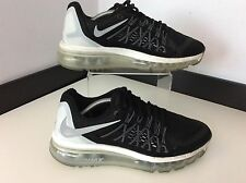 Nike Air Max Ladies Trainers Uk 5 Eu38.5 Black & White Vgc