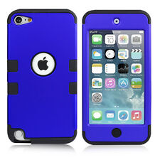 Shockproof Hybrid Heavy Duty Armour Tough Cover Case For iPod Touch 5th/6th