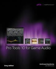 Pro Tools 10 for Game Audio/mixing,recording,studio