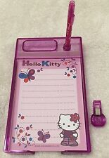 NEW Sanrio Hello Kitty Mini Desktray Set Memo Paper Clip Tray Desk