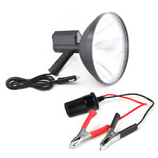 "9"" 12V HID Handheld Camping Night Coyote Coon Hog Hunting Spotlight Lamp 100W US"