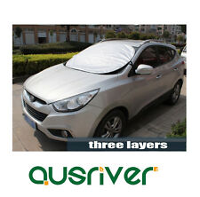 New Exterior Car Windscreen Windshield Cover Protect Against Heat Frost Anti UV