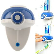 Automatic Press Button Hand Touch Toothpaste Dispenser Easy Squeezer Wall FE