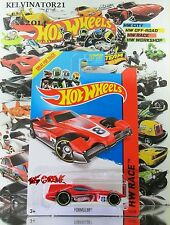 Hot Wheels 2014 #153 Formul8r® RED,1ST COLOR,YELLOW RIM,BLACK PR5,WHITE BASE,US