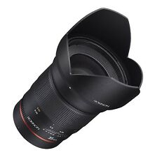 Rokinon 35mm F1.4 Wide Angle Lens for Canon EF with AE Chip for Auto Metering