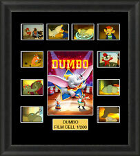DISNEY DUMBO 1941  MOUNTED FRAMED 35MM FILM CELL MEMORABILIA