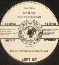 HOTLINE - Rock This House - Rhythm King