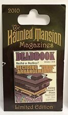 Disney - Haunted Mansion Magazines - Deadbook Rising Coffin Lid LE 2500 Pin