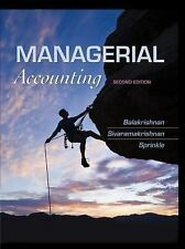 FAST SHIP - BALAKRISHNAN SPRINKLE 2e Managerial Accounting                   ET8