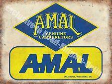 Old Carburetor, 156 Vintage Garage, Car Parts, Transport, Medium Metal/Tin Sign
