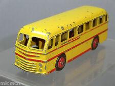 """DINKY TOYS modello N. 282 DUPLE """"ROADMASTER"""" COACH """"GIALLO / ROSSO Flash versione"""""""