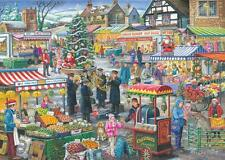 House Of Puzzles  1000 PIECE JIGSAW PUZZLE - Festive Market Find The Differences