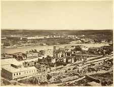 Photo Albumen Sébastopol Crimée Севастополь Sevastopol Vers 1860