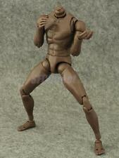 Narrow Shoulder 1:6 Scale Figure African American Male Body for TTM18 TTM19