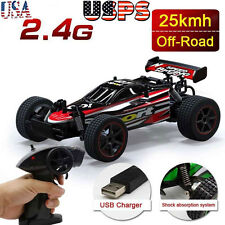 1/20 2WD High Speed Radio Remote control RC RTR Racing buggy Car Off Road Red
