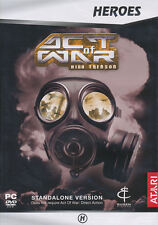 Act of War HIGH TREASON - Stand- Alone Expansion Combat Strategy PC Game NEW BOX