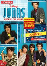 Jonas 1: Rockin the House  DVD JONAS BROTHERS